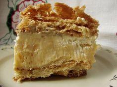 Sweets Cake, Cookie Desserts, Custard Slice, Polish Recipes, Polish Food, How Sweet Eats, No Bake Cake, Cake Recipes, Sweet Tooth