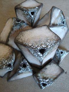 Stoneware vessels.  Olia Lamar