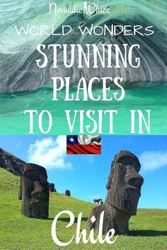 10 Most beautiful places in Chile you can visit and enjoy.   Click the pin to…