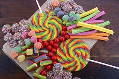 Słodycze, Cukierki, Żelki, Galaretki, Lizaki