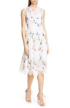 2d66429c173a1 Free shipping and returns on Ted Baker London Cerloe Elegant Midi Dress at  Nordstrom.com