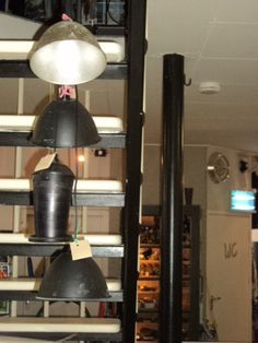 Burgervlotbrug / Diverse lampen