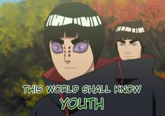 This world shall know youth :D #narutofunny
