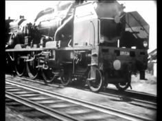 """Best train video ever and great music too   """"Pacific 231"""" 1949 movie: Jean Mitry-music: Arthur Honegger  original !"""