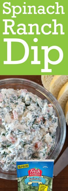 Our spinach, wilted, is added to Ranch dip ingredients, with bacon and water chestnuts. Ranch Dip, Cookie Exchange, Spinach, Dips, Oatmeal, Bacon, Veggies, Appetizers, Daily Planners