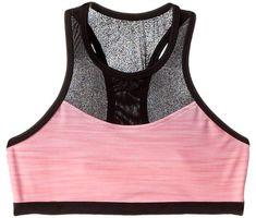 528179393565e Bloch Gradient Print Mesh Panel Bra Top Girl s Bra Girls Sports Clothes