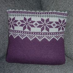 Ravelry: Advents puter pattern by Trine Lise Høyseth Advent, Ravelry, Crochet Top, Throw Pillows, Pattern, Women, Knitting And Crocheting, Christmas, Toss Pillows