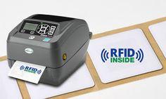 BESSERDRUCKEN: Kompakter RFID-Etikettendrucker  Mit dem ZEBRA _ZD... Scanner, Pos, Printer, Beer Labels, Flasks, Printing, Printers