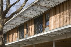 Jardín Infantil Jean Carrière / Tectoniques Architects - Pesquisa do Google
