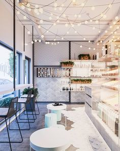 51 Super Ideas For Small Cafe Seating Lights