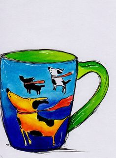 An amazing Mug from dear friends in Canada... Cuppa With Friends Project