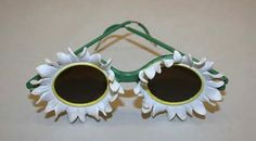 Sunglasses Designer:Marcel Rochas (French, Date:ca. 1939 Culture:French Medium:clay, metal Credit Line:Gift of Page Williams, 1984 Turbans, 1930s Fashion, Vintage Fashion, Vintage Clothing, Marcel Rochas, Optical Eyewear, Four Eyes, Vintage Flowers, Vintage Accessories