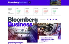 Bloomberg - There's already been so much praise and controversy over this new site design since it launched earlier this week. All of it has a lot to do with perspective probably – if you're more from the financial world (Bloomberg's customer base), you're probably a little freaked out. (Kind of like the new BMW commercial with Katie Couric and Bryant Gumble about Internet)