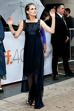 americanultra:  Kristen Stewart being a magical creature at the premiere of Equals at TIFF 2015