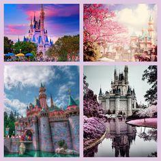 Disney castles :)