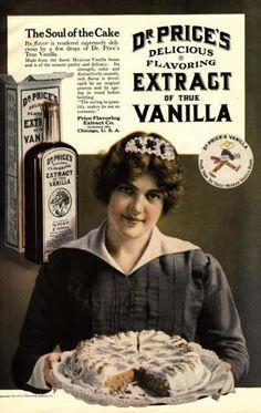 Dr Price's Vanilla Maids Servants, USA (1900)