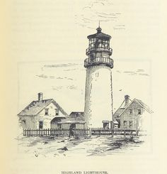 #Highland #Light in 1883. Did you know Highland Light (also sometimes know as the Cape Cod Light) in #Truro is one of the oldest established #lighthouses in the United States? #CapeCod