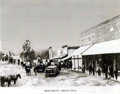 Flippin Arkansas Downtown | Main Street, Calico Rock, Arkansas