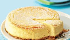 This is Ina Paarman`s favourite cheesecake: smooth, creamy and not too sweet. It matures in the fridge and tastes better on the third day than on the first. It™s rich, so serve in small slices for a teatime treat or elegant dessert. Baked Cheesecake Recipe, No Bake Cheesecake, Cheesecake Bites, Cheesecakes, Kos, Elegante Desserts, Baking Recipes, Dessert Recipes, Pie Recipes