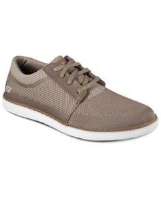 Skechers Men's Lanson Vanorio Casual Sneakers from Finish Line - Tan/Beige  7.5