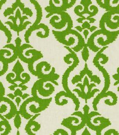 Home Decor 8''x 8'' Fabric Swatch  Print Fabric-Waverly Luminary Emerald, , hi-res