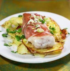 Recipe for hake wrapped in prosciutto - The Boston Globe