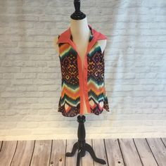 Bright Sleeveless Blouse Fun and colorful sleeveless blouse! Perfect for spring and to add a pop of color! Semi sheer, very light weight! Tops Blouses