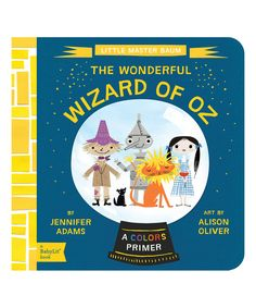 Look what I found on #zulily! BabyLit Wizard of Oz Board Book by BabyLit #zulilyfinds