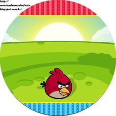 Montando minha festa: Angry Birds