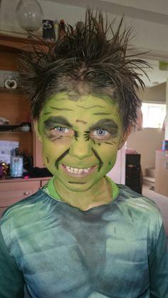 Hulk face painting ideas