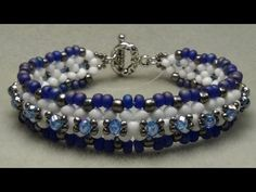 I would love to see what you make show me on facebook and become my friend.   http://www.facebook.com/aleshia.beadifulnights#!/aleshia.beadifulnights    If you want to embellish your bracelet you will need 7ft. of 10lb. test fishing line. You can also make this bracelet without embellishing it. If you do you will only need 5ft. of 10.lb test fishin...
