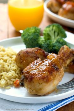Apricot Baked Chicken with Rice - super easy dinner idea that everyone will love, especially the kids! #BensBeginners