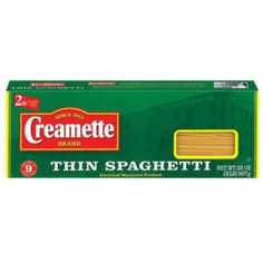 I'm learning all about Creamette Thin Spaghetti at @Influenster!