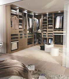 Dressing sur mesure, dressing lapeyre : 8 exemples de rangements - CôtéMaison.fr