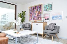 Proyectos archivos   El Blog del Decorador Living Comedor, Accent Chairs, Entryway, Gallery Wall, Tapestry, Frame, Inspiration, Furniture, Blog