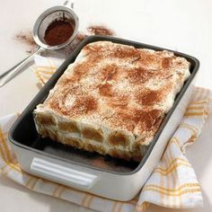 Klassisches Tiramisu Rezepte | Weight Watchers