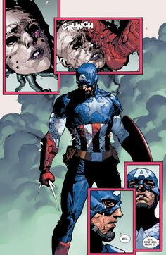 captain america in Collectible Comics Arte Dc Comics, Marvel Comics Art, Marvel Heroes, Marvel Avengers, Avengers 2012, Comic Book Artists, Comic Books Art, Comic Art, Marvel Comic Character