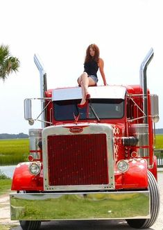 Bad ass trucks babes with you