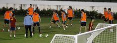 Rondo en Sao Jenario en la Copa Confederaciones 2013 #seleccionespanola #LaRoja #diariodelaroja