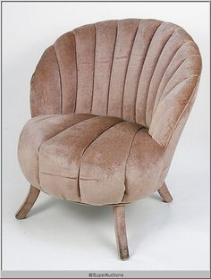Salon Chairs Scalloped Shaped {Max Factor Collecti - May 2010 Chesterfield Chair, Armchair, Salon Chairs, Max Factor, Antique Roses, Step Inside, Tub Chair, Accent Chairs, Ottoman