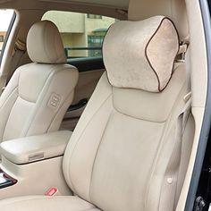 Dreamer Car Premium Space Memory Foam Seat Neck Pillow Rest Headrest