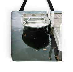 'Boat on a cloudy afternoon' Tote Bag by Debbie Widmer Large Bags, Small Bags, Medium Bags, Cotton Tote Bags, Are You The One, Boat, Prints, Photography, Design