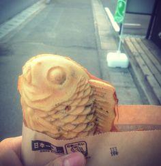 日本一のたい焼き らしい。