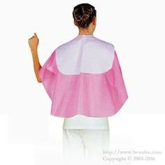 http://www.beauba.com/products/detail.php?product_id=11311 Back Shampoo Cloth Pink. #HairStylingTools #CuttingCloths/CuttingCapes  The light fabric feels good. The dropper part is water repellent with ethylene/vinyl/acetate(EVA). For shampooing.