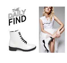"""Daily Find: Steve Madden Boots"" by polyvore-editorial ❤ liked on Polyvore featuring Steve Madden and DailyFind"