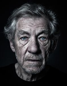 Sir Ian McKellen by Andy Gotts