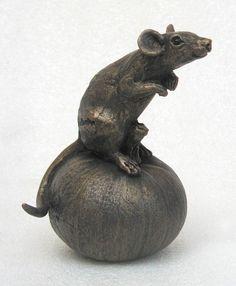 Mouse 'Tom' On Pumpkin