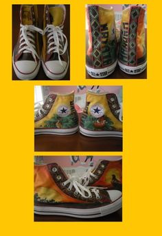 21476986caf1 The Lion King Shoes by ~Some-Imagination on deviantART · King ShoesCustom  ShoesConverse ...