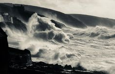 Stormy Seas Hit Porthleven Coastline Cornwall England Stock Photo - Download Image Now - iStock Stormy Sea, Architecture Images, Cornwall England, Video Image, Feature Film, Photo Illustration, Image Now, Seas, Waterfall