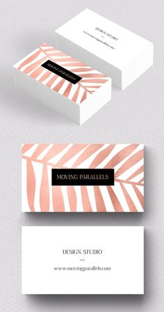Rose Gold Palm Foil Business Card card, New Business Card Templates Print Ready Design) Id Card Design, Graphisches Design, Logo Design, Branding Design, Design Cars, Calling Card Design, Event Branding, Identity Branding, Visual Identity